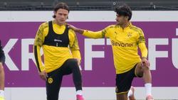 Nico Schulz (l.) und Mahmoud Dahoud spielen beim BVB keine große Rolle mehr