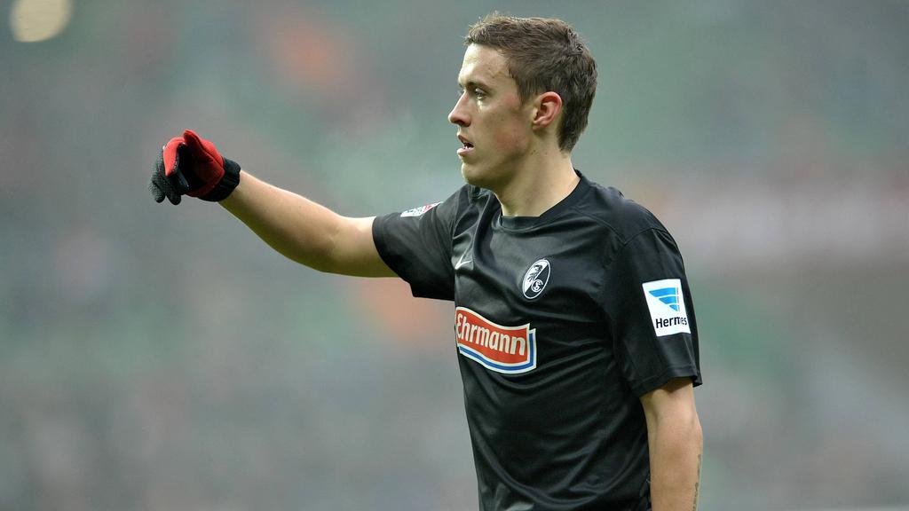 Stürmer Max Kruse spielte bereits für Freiburg