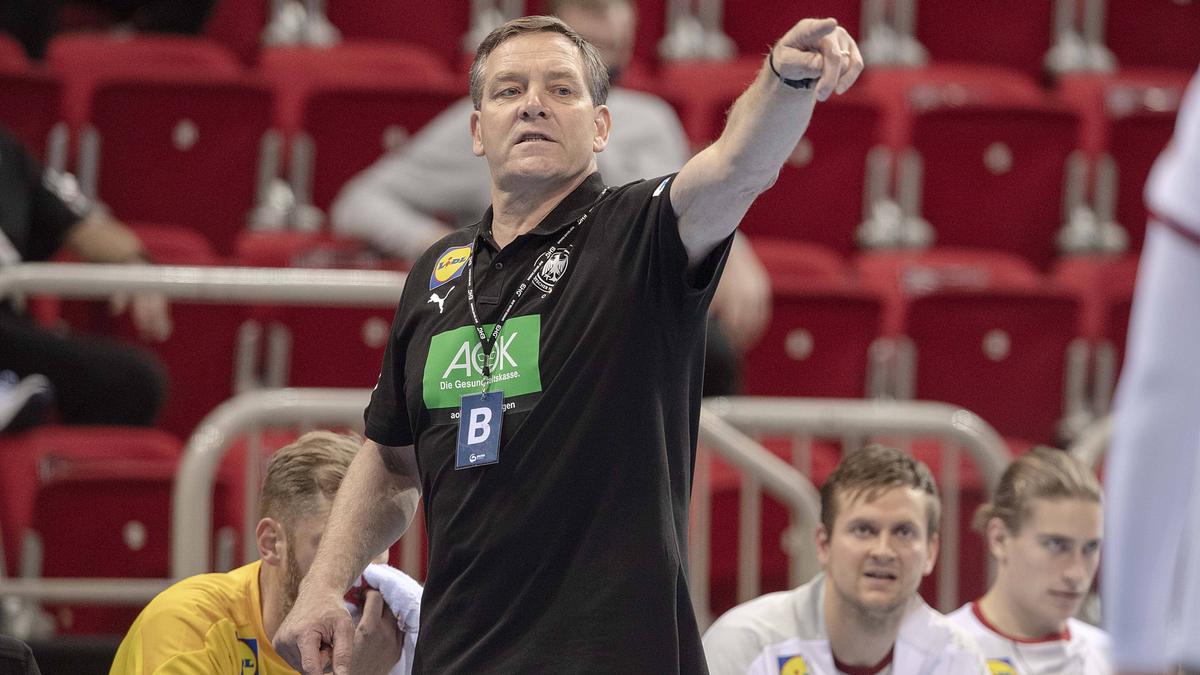 Alfred Gislason lobt die Leistung des THW Kiel