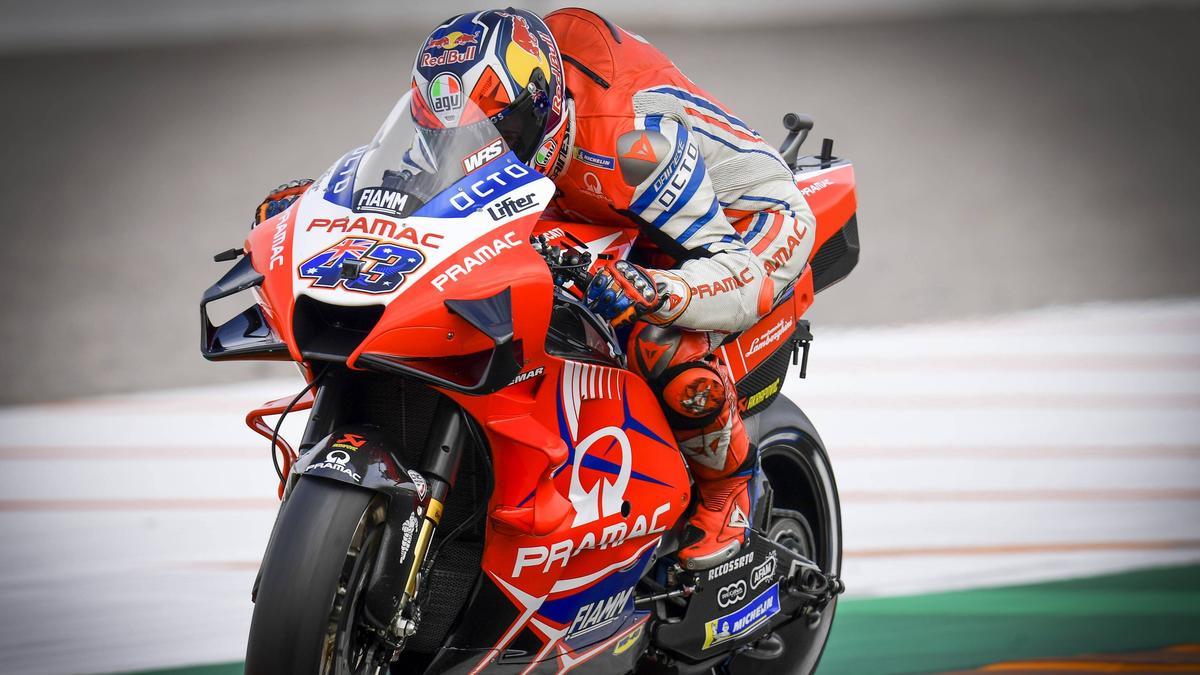 Jack Miller geht für Ducati an den Start