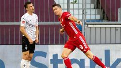 Torjäger Robert Lewandowski überragte beim FC Bayern wieder einmal