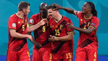 Bélgica fue muy superior a una débil Rusia.