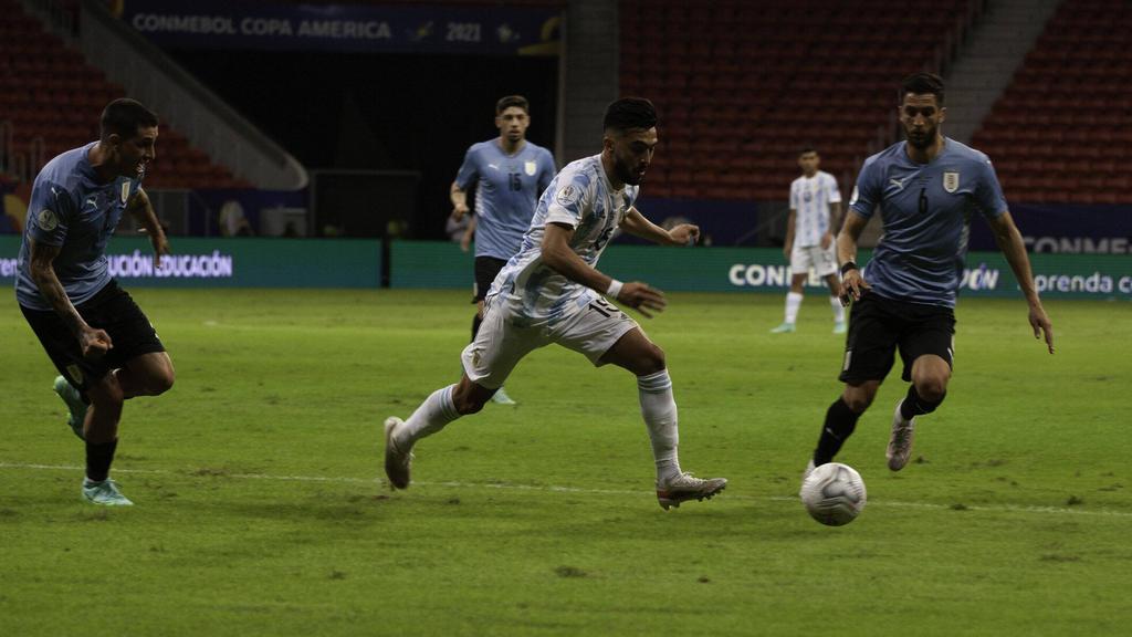 Argentina supo jugar sus cartas frente a Uruguay.