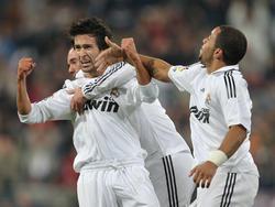 Zum Zeitpunkt des Jubels war Real Madrid eine Runde weiter