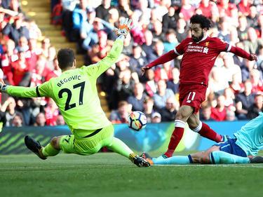 Mohamed Salah traf auch im Spiel gegen Bournemouth