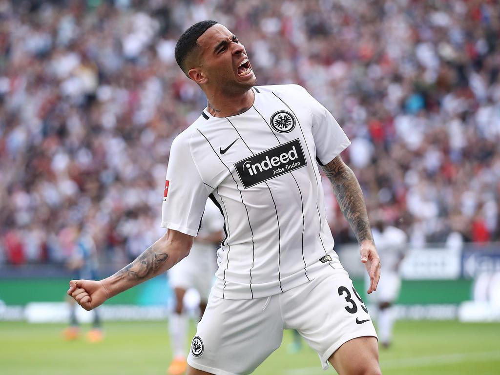 Omar Mascarell hat für die Eintracht in der letzten Bundesliga-Saison einen Treffer erzielt
