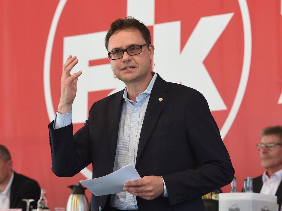 Michael Klatt bleibt Vorstandsvorsitzender beim 1. FCK (Bildquelle: Twitter: @Rote_Teufel)