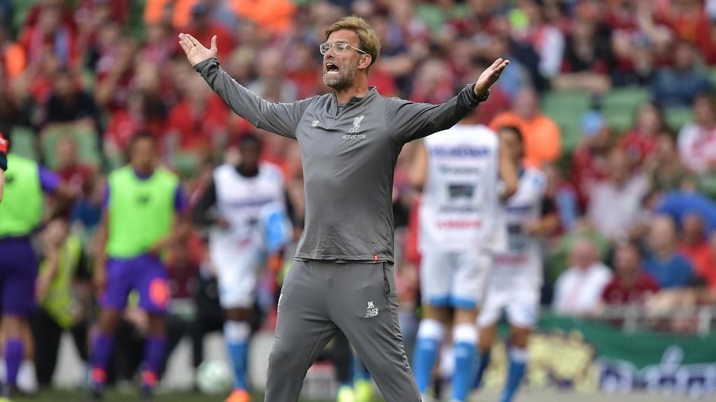 Jürgen Klopp brennt auf die neue Saison in der Premier League