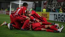 Wiesbaden kegelte St. Pauli aus dem Pokal