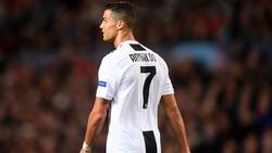 Cristiano Ronaldo wechselte im Sommer von Real Madrid zu Juventus Turin