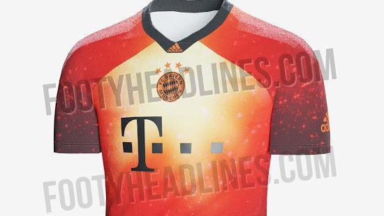 finest selection 83648 3689c FC Bayern: Rot orange statt rot-weiß? Limitiertes Trikot geleakt