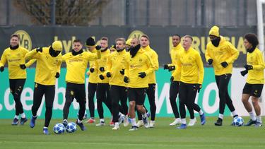 Der BVB bereitet sich auf das Rückspiel gegen den FC Brügge vor