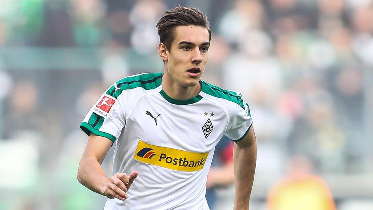 Florian Neuhaus legte bei Borussia Mönchengladbach einen Senkrechtstart hin