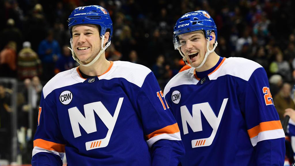 Die New York Islanders feierten einen Heimerfolg
