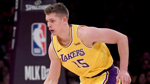 Moritz Wagner stand bei der Niederlage der Los Angeles Lakers 18 Minuten auf dem Platz und holte drei Zähler
