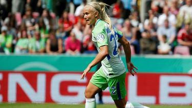 Pernille Hader trifft mit Wolfsburg auf die Bayern-Damen