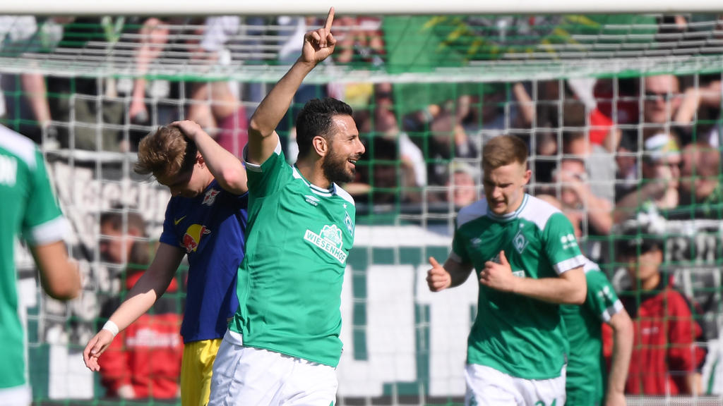 Claudio Pizarro steuerte einen Treffer zum Sieg der Bremer bei