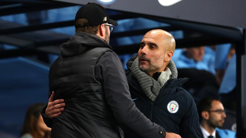 Jürgen Klopp (l.) und Pep Guardiola treiben sich zu Höchstleistungen an