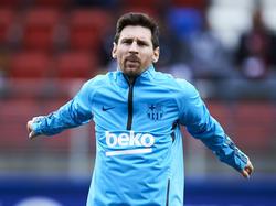 Leo Messi quiere cerrar la temporada azulgrana con otro título. (Foto: Getty)
