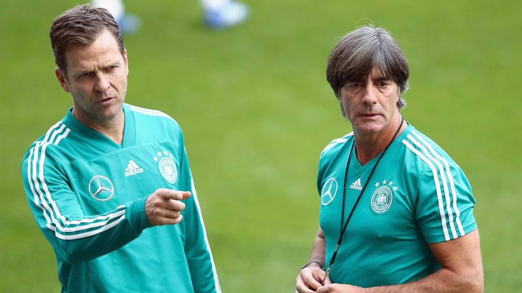 Oliver Bierhoff freut sich über eine baldige Rückkehr von Joachim Löw