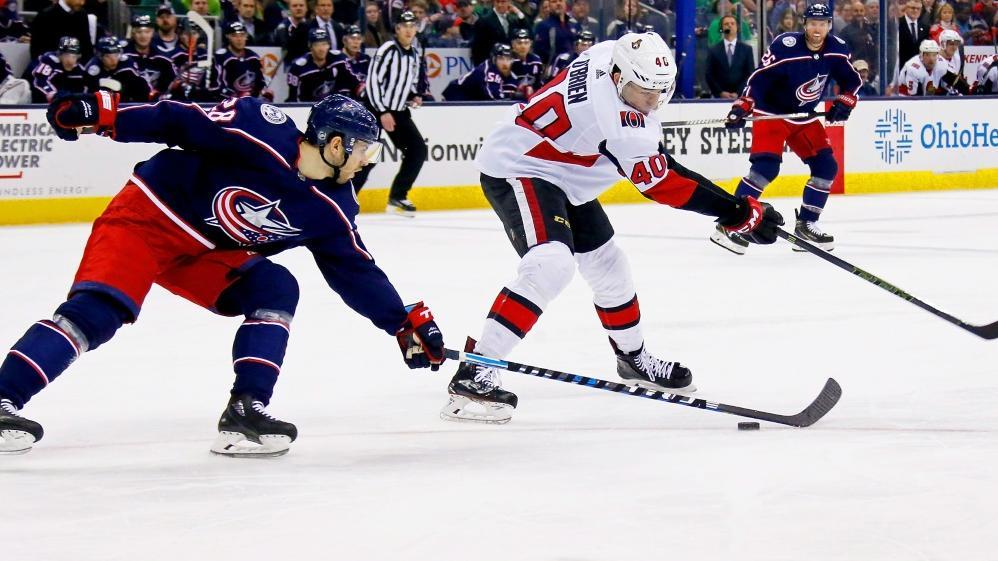 Jim OBrien (Nr. 40) absolvierte 77 Spiele in der NHL
