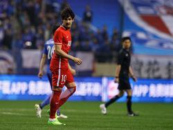 Alexandre Pato en un partido con el Tianjin. (Foto: Getty)