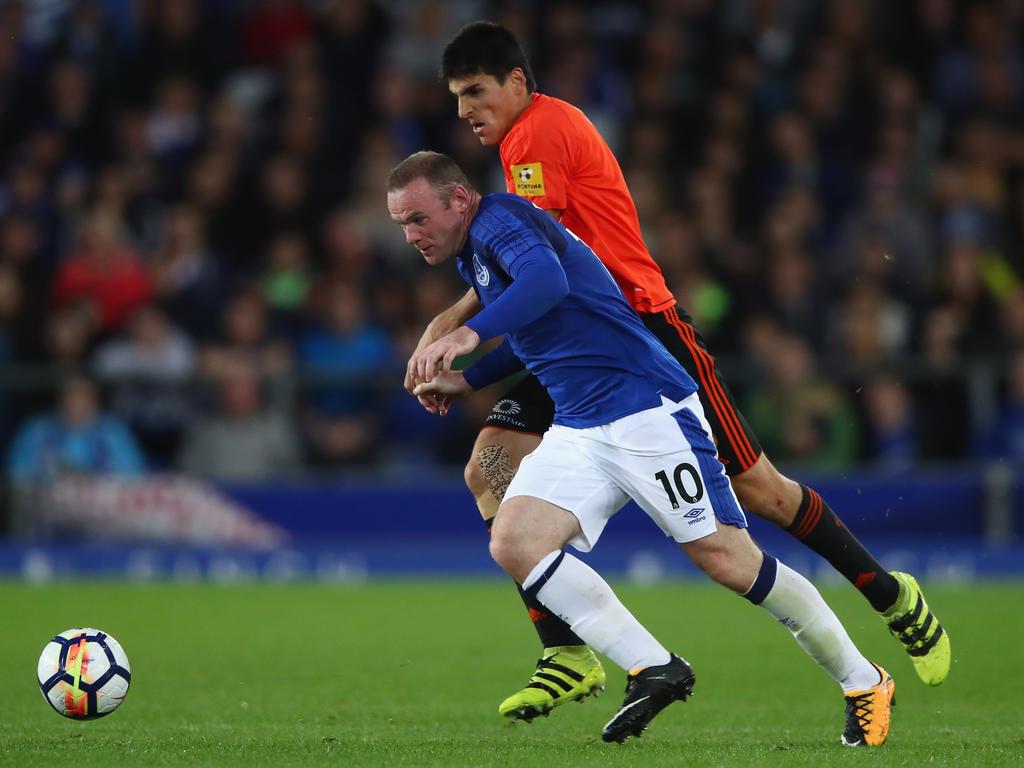 Wayne Rooney feiert mit Everton den ersten Pflichtspielsieg nach seiner Rückkehr