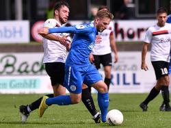 Timo Kern spielt seit 2013 für den FC-Astoria Walldorf in der Regionalliga Südwest
