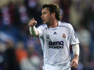 Cassano con la camiseta del Real Madrid. (Foto: Getty)