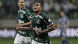 El Palmeiras no pasó del empate y en el descuento.
