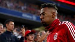 Jérôme Boateng vom FC Bayern fiel offenbar durch den Leistungstest bei Manchester United