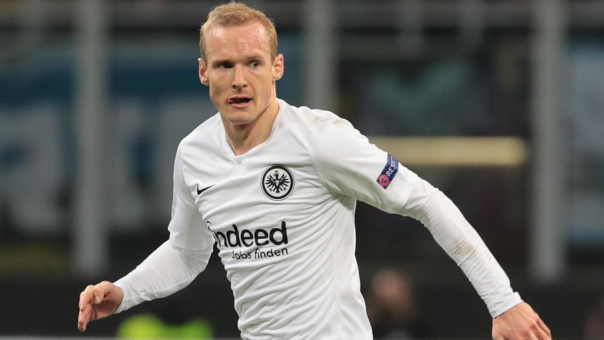 Sebastian Rode ist zurück bei Eintracht Frankfurt