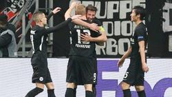 Eintracht Frankfurt konnte sich auf seine Abwehrspieler verlassen