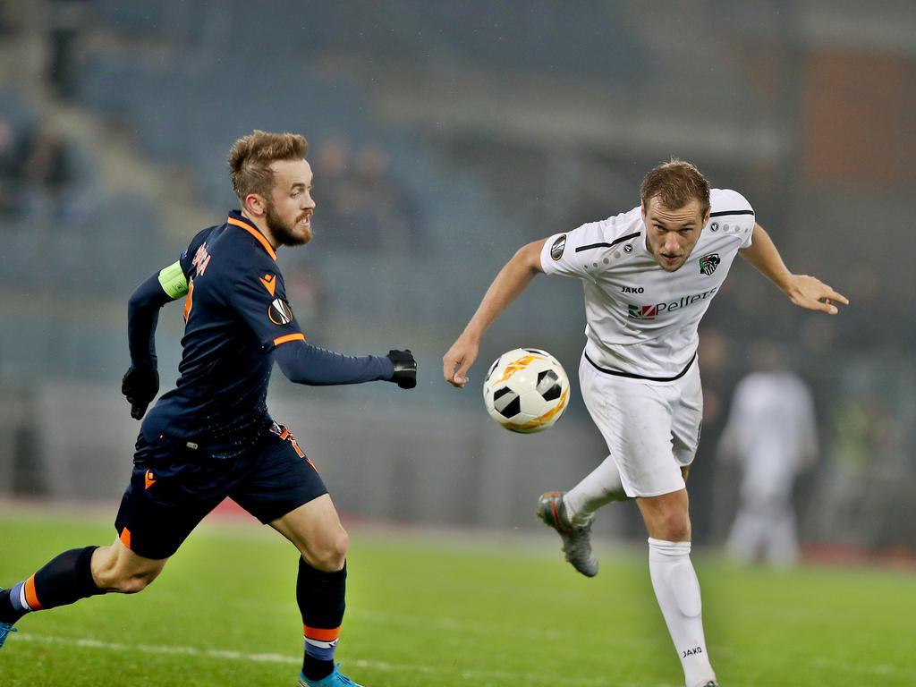 Başakşehirs Edin Višća war gegen den WAC der Mann des Spiels