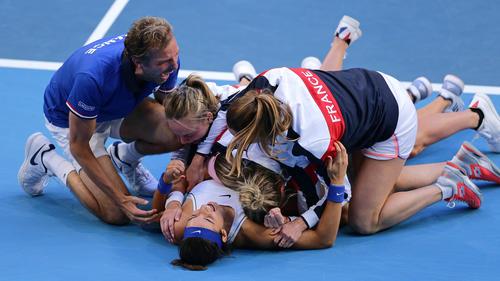 Frankreichs Damen haben den Fed Cup gewonnen
