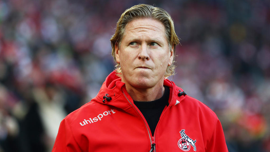 Markus Gisdol hat mit dem 1. FC Köln klare Ziele