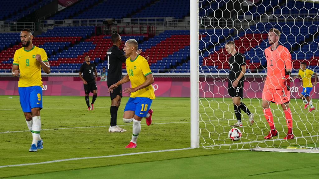 Brasil no dio opción al combinado germano.