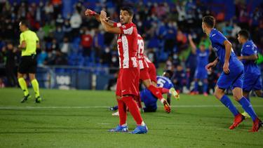 Luis Suárez erzielte die beiden Tore für Atlético