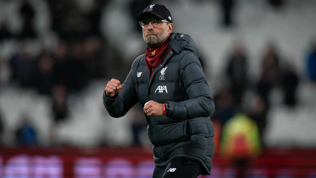 Jürgen Klopp und der FC Liverpool haben die Chance auf eine Titelverteidigung