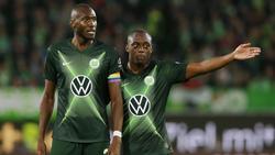 Joshua Guilavogui (l.) fehlt dem VfL Wolfsburg erneut