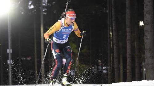Denise Herrmann wurde im Sprint nur 38.