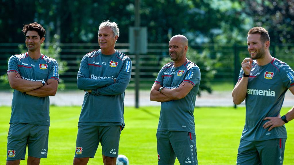 Seit 2011 in Leverkusen: Schahriar Bigdeli (l.)