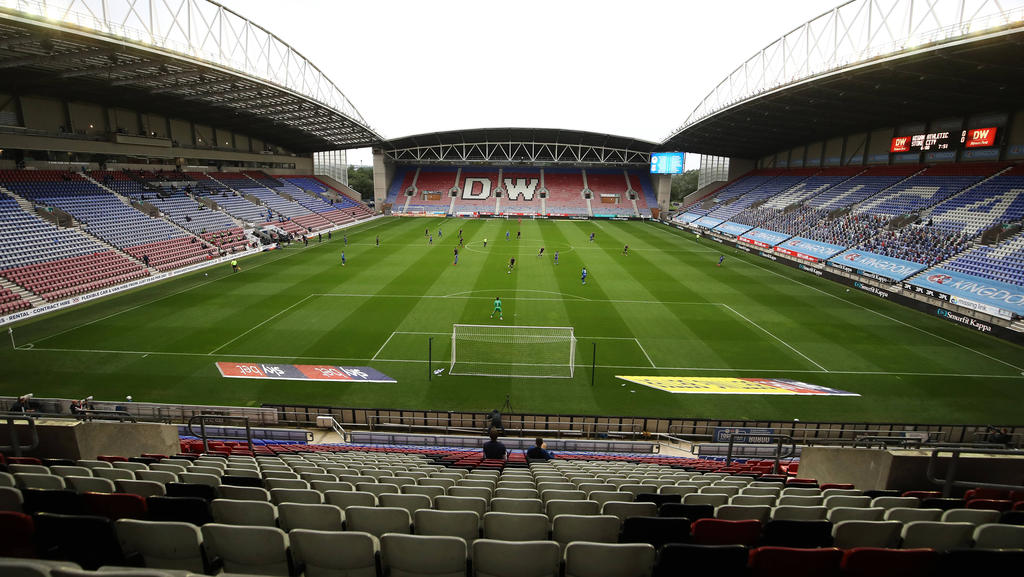 Wigan Athletic ist insolvent