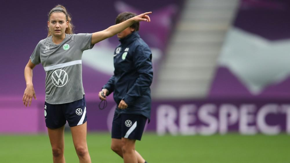 Joelle Wedemeyer bleibt dem VfL Wolfsburg treu