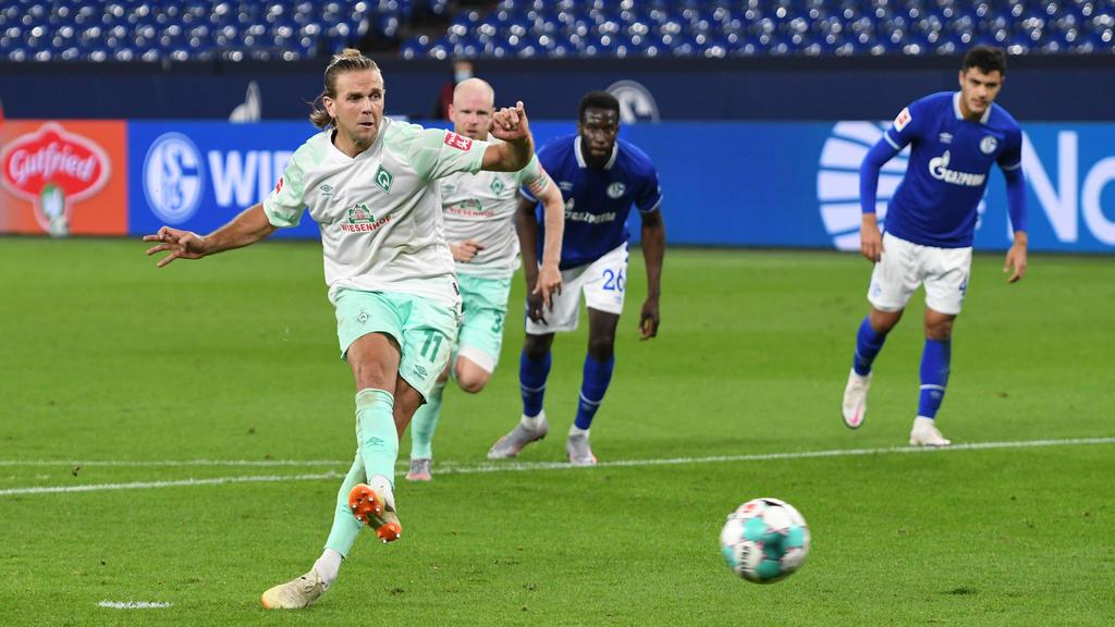 Niklas Füllkrug erzielte drei Tore gegen Schalke