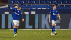 Benjamin Stambouli (l.) und Bastian Oczipka werden den FC Schalke 04 verlassen