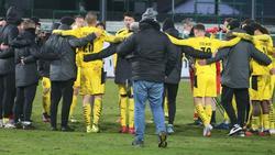 Die U23 von Borussia Dortmund steigt auf