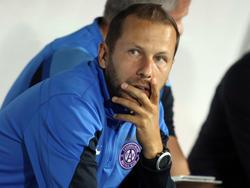 Renè Poms vertritt den gesperrten Austria-Coach Nenad Bjelica