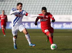 Lausanne verliert in der 16. Runde der Super League gegen den FC Thun mit 0:2.