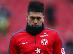 Der Mainzer Nicolás Castillo muss für den Rest der Spielzeit passen